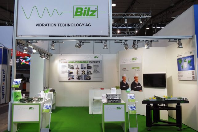 Messebau: Messestand Für Die Bilz Vibration Technology AG (Control Stuttgart)