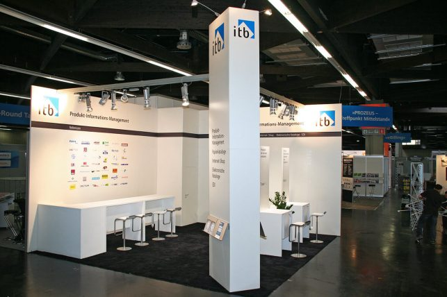 Messebau: Messestand Für Itb (e-procure & Supply Nürnberg)