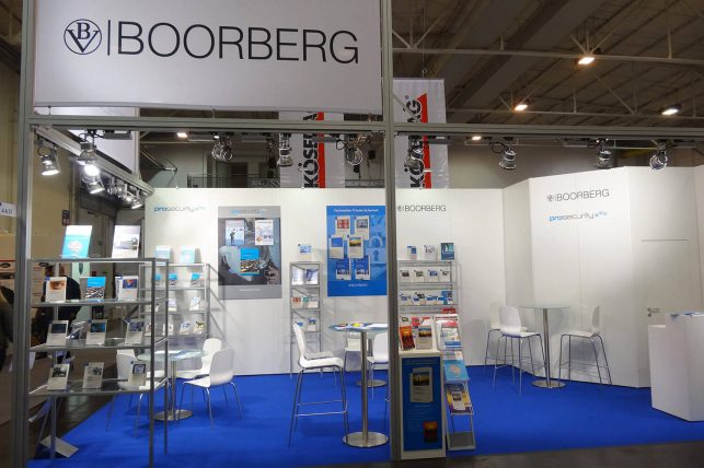 Messebau: Messestand Für BOORBERG / Prosecurity (security Essen)